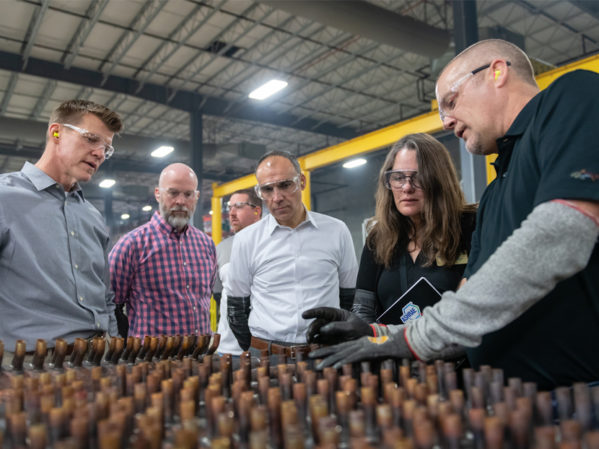 "ASHRAE President Sheila Hayter Tours Nortek Factory, Promotes ""Building Our New Energy Future"" Campaign"