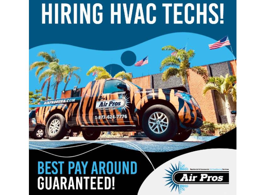 Air Pros USA to Hold Virtual Job Fair