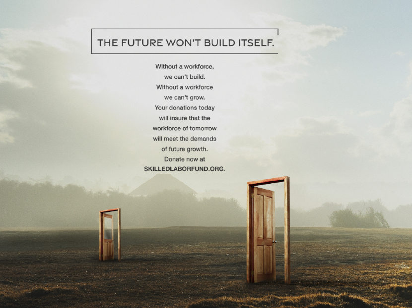 Ammunition and Skilled Labor Fund Launch Disruptive New Ad Campaign 2