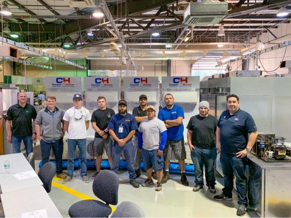 Cooper&Hunter and Tropic Supply Donate HVAC Equipment to Daytona State College HVACR Program
