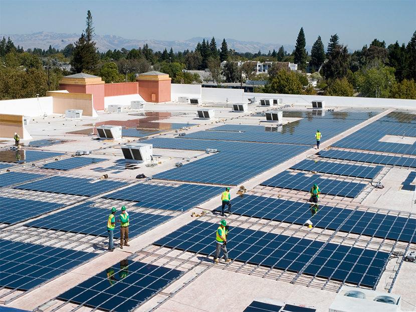 Solar Commercial Installation
