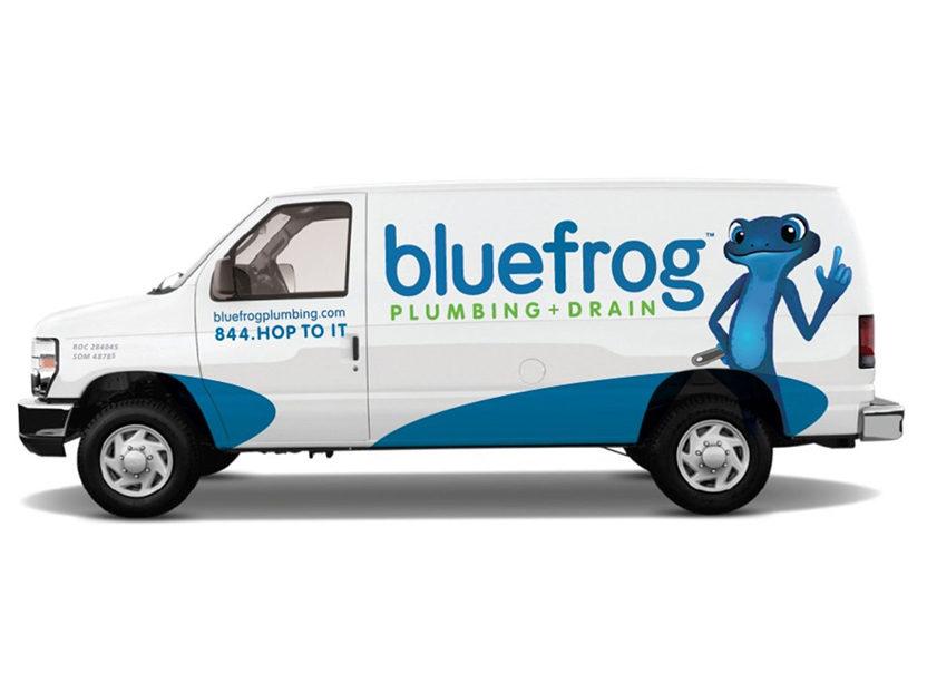 Blue Frog Van