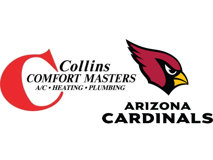 Collins Comfort Masters Partners with NFL's Arizona Cardinals