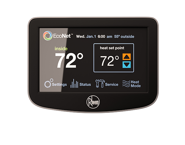 Rheem S Econet Enabled Water Heaters Now Work With Nest