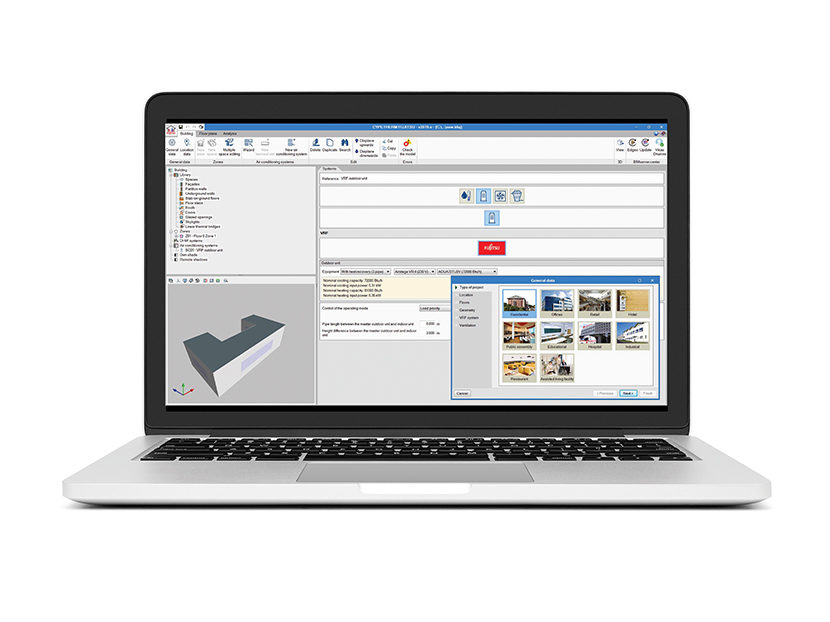 Fujitsu CYPETHERM Energy Modeling Software