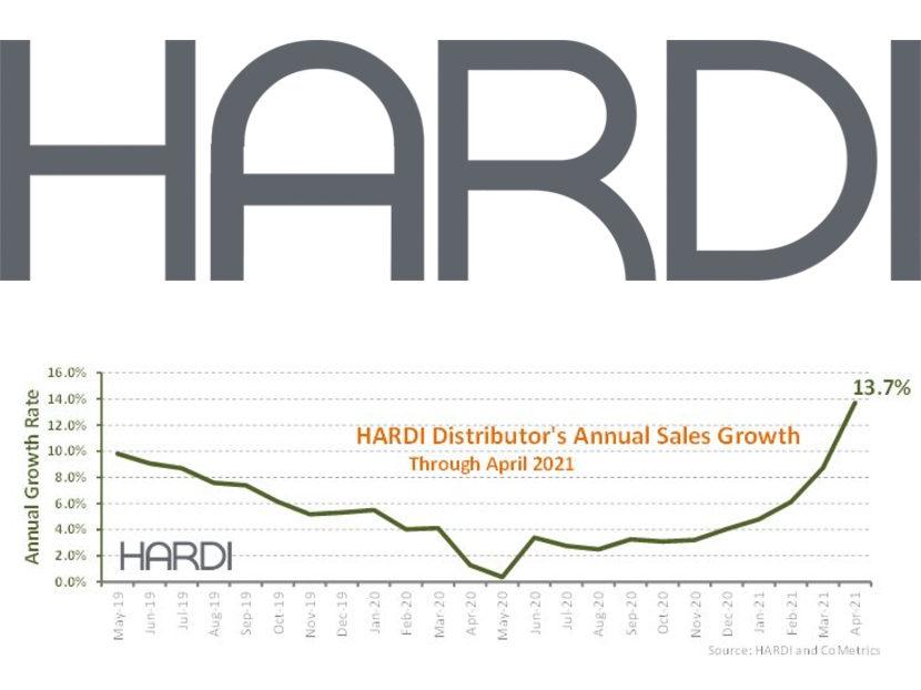 HARDI Distributors Report 60.6 Percent Revenue Increase in April
