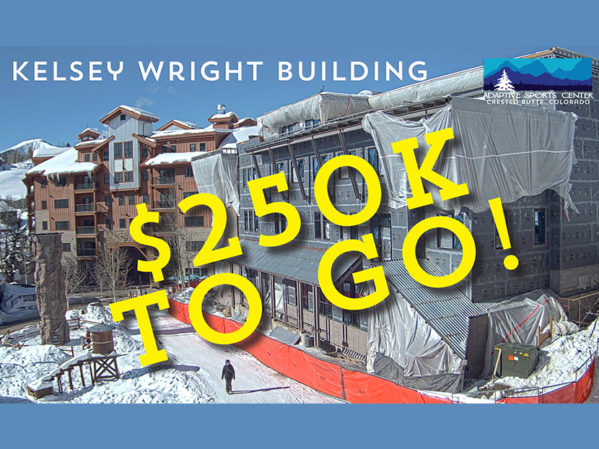 Adaptive Sports $250,000 Away From Kelsey Wright Building Campaign Goal