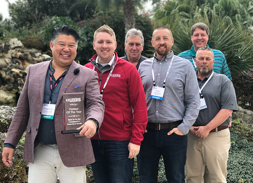 Leeps Supply Recognizes 2018 Partners of the Year 1
