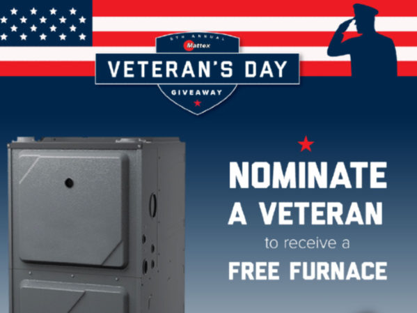 Mattex Service Company Selects Recipient of Free Furnace 2