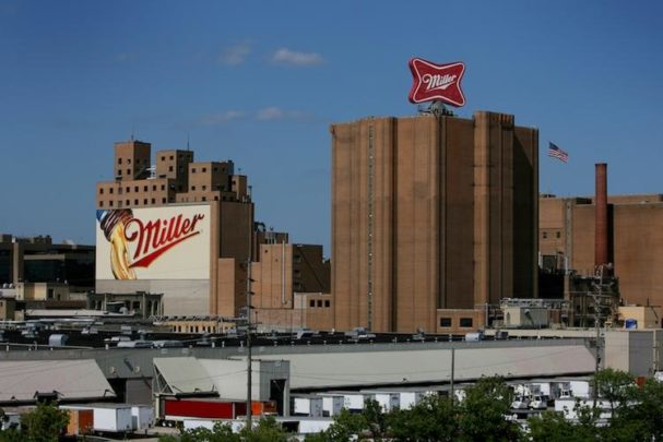 MillerCoors Milwaukee brewery