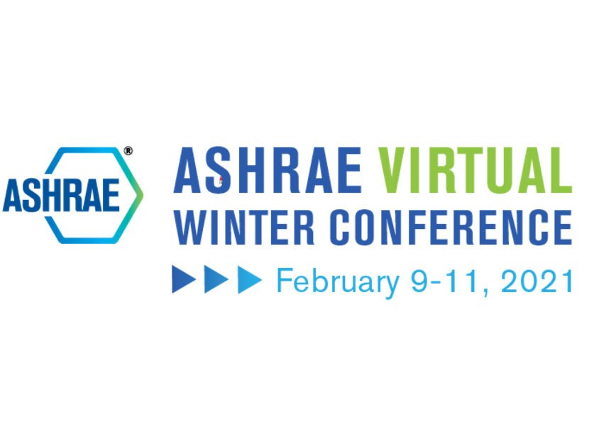 2021 ASHRAE Virtual Winter Conference Registration Now Open 2