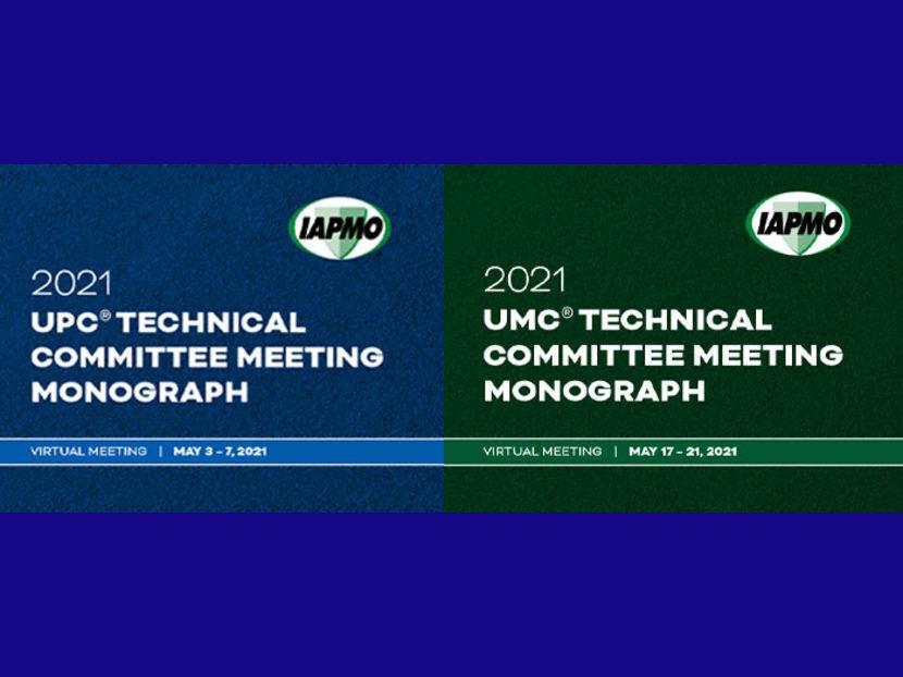 IAPMO Code Change Monographs Now Available
