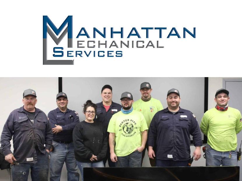 Manhattan Mechanical Celebrates Two-Year Zero OSHA-Recordable