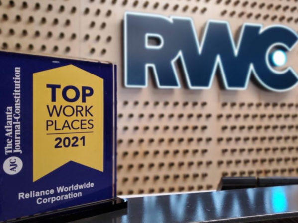 RWC Wins Metro Atlanta Top Workplaces of 2021 Award