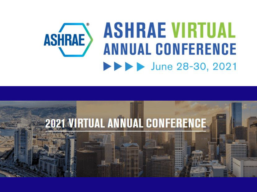 Registration Open for 2021 ASHRAE Virtual Annual Conference