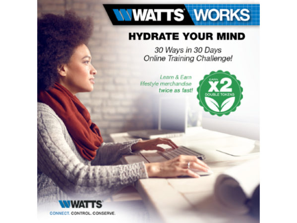 Watts Announces 30-Day Online Training Challenge 2