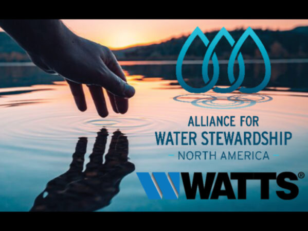 Watts Joins The Water Council Alliance for Water Stewardship