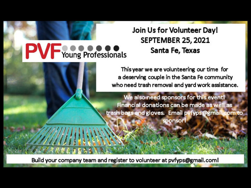 PVF Young Professionals Announces Volunteer Day