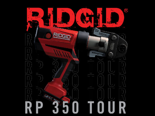 RIDGID RP 350 Press Tool Tour Goes Global with Stops in Eight Countries