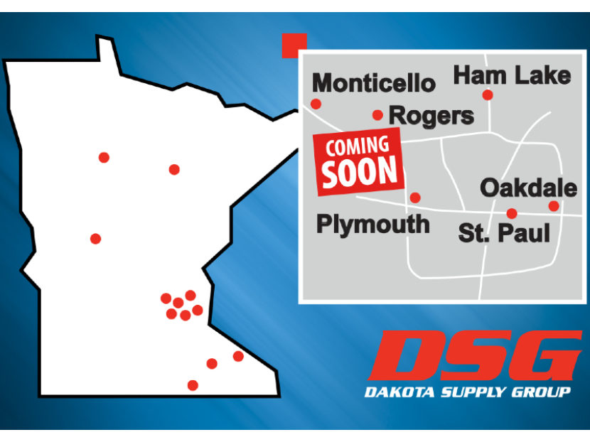 DSG Plans a New Facility in Rogers, Minnesota
