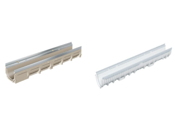 MIFAB Polymer Concrete and Plastic (GRP) Trench Drains