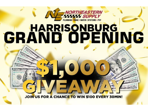 Northeastern Supply Announces Grand Opening Event for Harrisonburg Branch