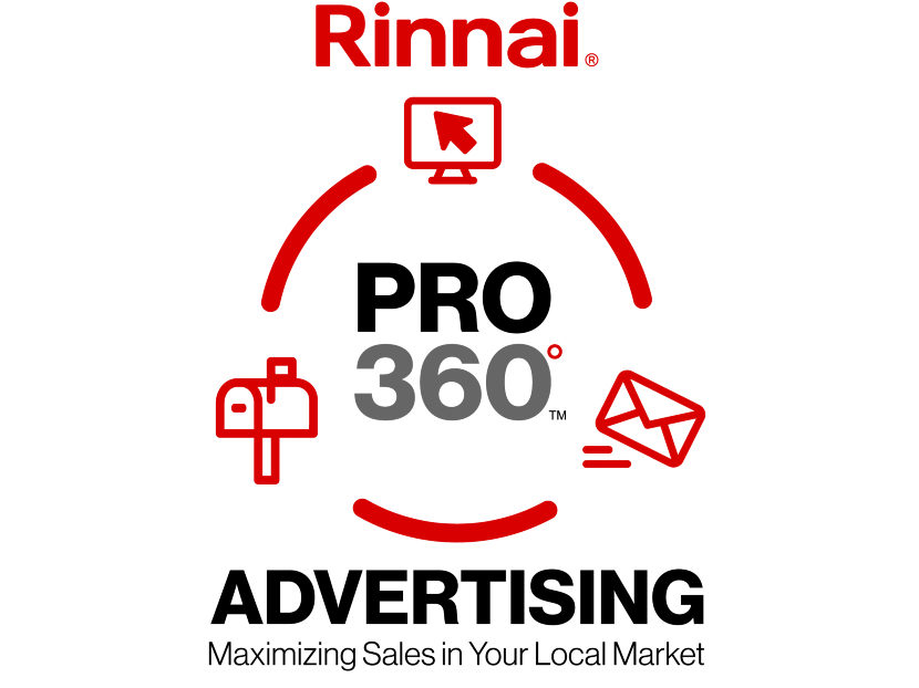 Rinnai America Launches Rinnai PRO 360 Advertising Packages