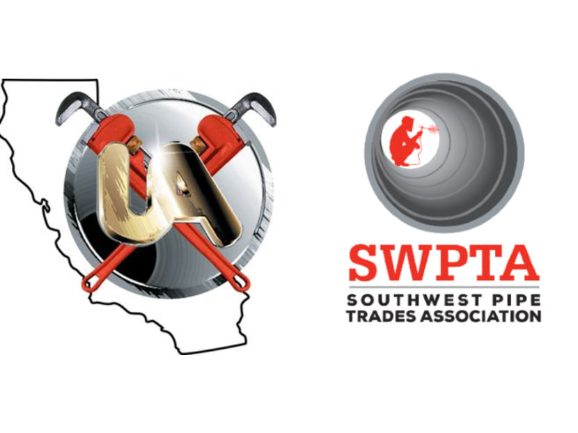 Southern California Pipe Trades District Council 16, Southwest Pipe Trades Association Pledge IWSH Support