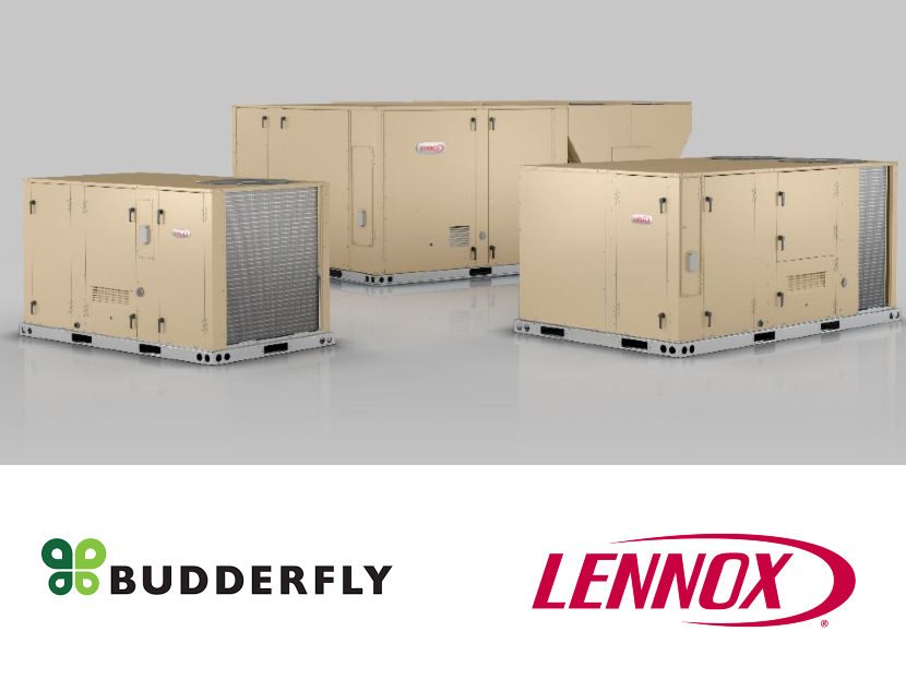 Budderfly Signs Nationwide Agreement with Lennox International for HVAC Equipment and Services