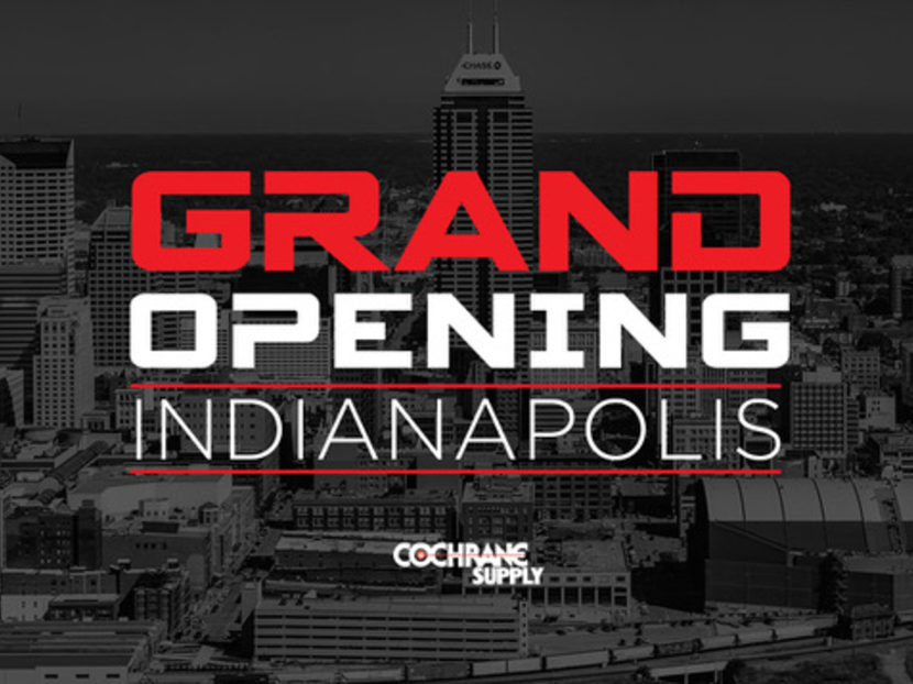 Cochrane Supply Debuts Official Launch of Indianapolis Location