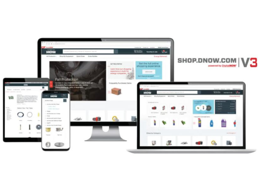 DNOW Launches shop.dnow.com V3