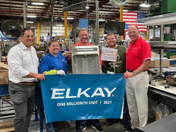 Elkay Celebrates One Millionth ezH2O Bottle Filling Station Milestone