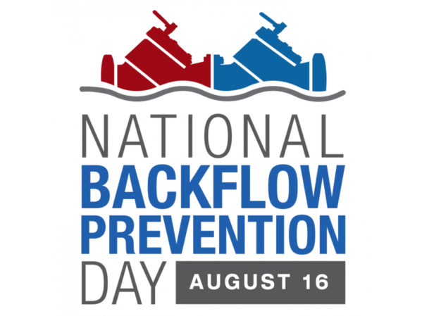 First National Backflow Prevention Day Set for August 16