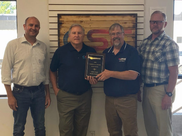 Leonard Valve Honors Contact Sales Co. with Annual Frederick C. Award