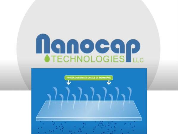 Nanocap Technologies Offers Unique Air Drying Process