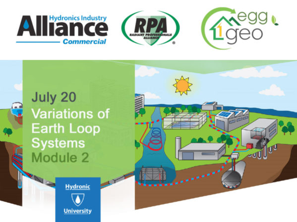 Registration Still Open for Variations of Earth Loop Systems Module 2