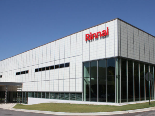Rinnai Continues to Expand U.S. Market Leadership with Commitment to Domestic Manufacturing and Production
