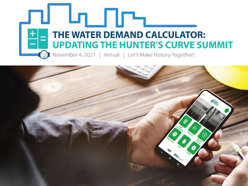 Save the Date — The Water Demand Calculator: Updating the Hunter's Curve Summit