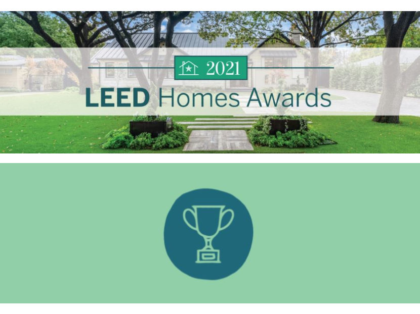 U.S. Green Building Council Announces 2021 LEED Homes Awards Recipients
