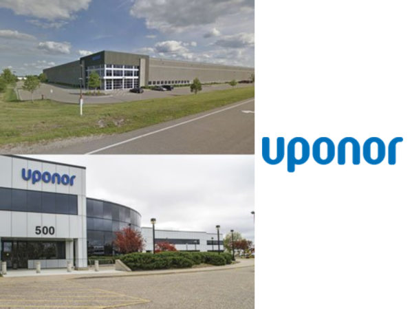 Uponor to Expand Manufacturing Capacity in Two Facilities