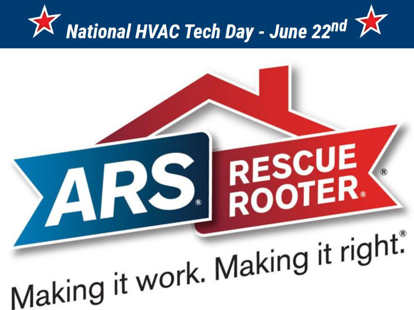 ARS/Rescue Rooter Celebrates National HVAC Tech Day June 22