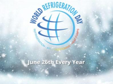 Ashrae presents co organized world refrigeration day webinars
