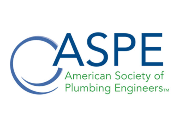 ASPE Announces Newest Certified Plumbing Designers