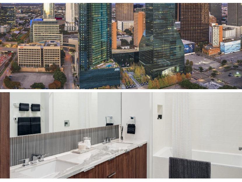 Gerber Faucets Add Elegance to Dallas Apartment Skyscraper