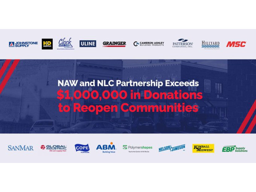 NAW and NLC Surpass $1 Million in Donations to Eight Reopening Communities