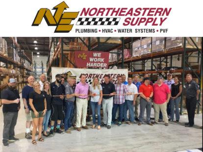 Northeastern supply celebrates grand opening of lorton virginia branch