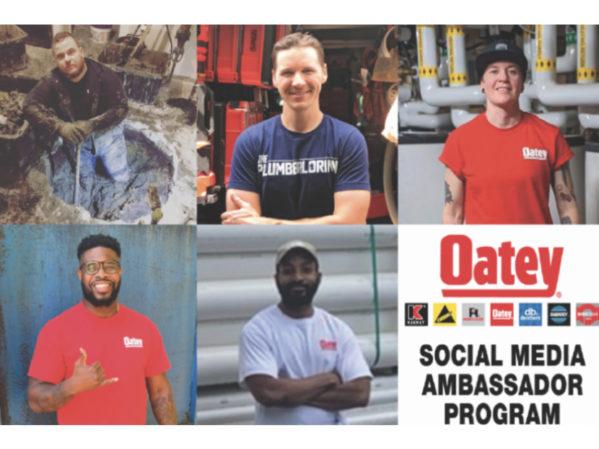 Oatey Co. Launches Social Media Ambassador Program