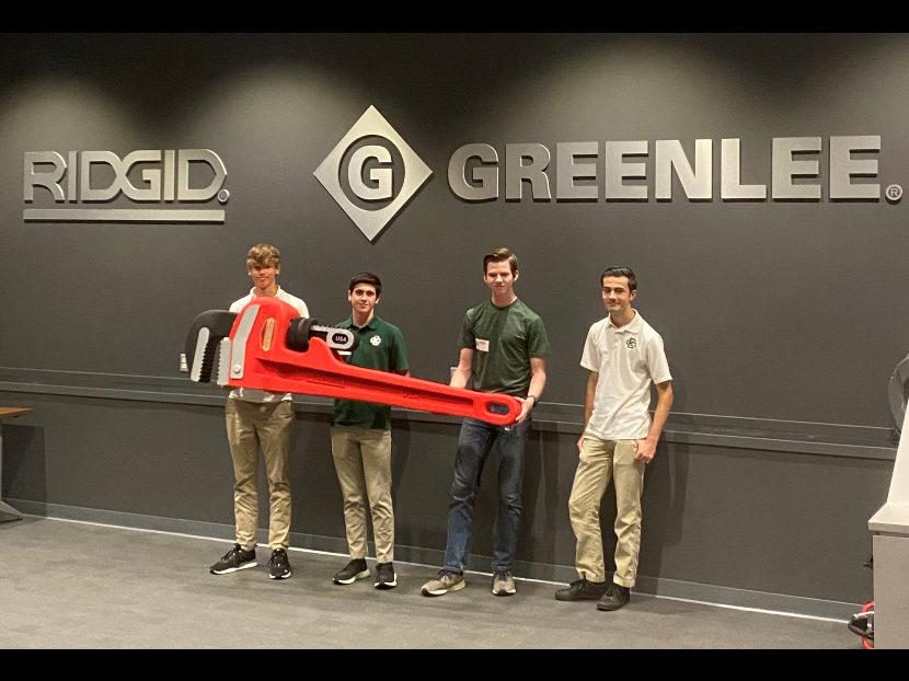 RIDGID Hosts Local High School Students as Part of Career Exploration Program