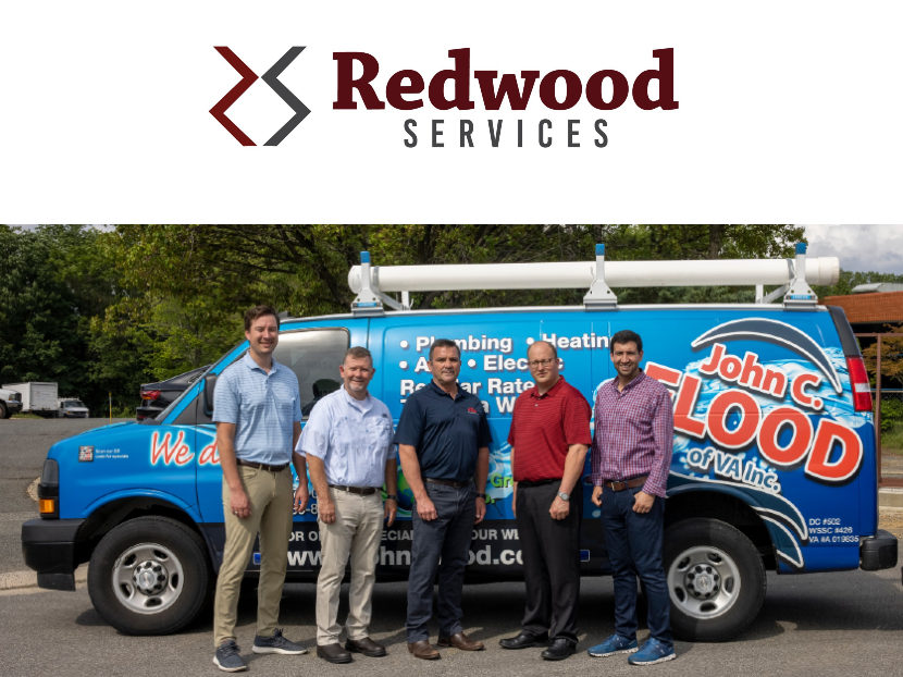 Redwood Services Announces Investment in John C. Flood of Virginia