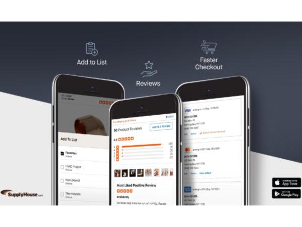 SupplyHouse.com Enhances First App for Busy Trade Professionals